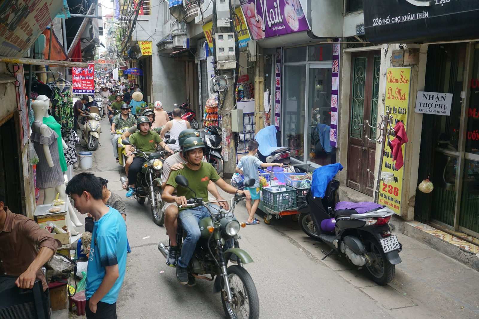 Hanoi Street Food Tour By Scooter Motorbike