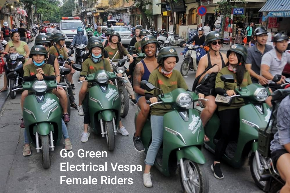 Hanoi Electric Moped Tours – Street Food, Culture, Sight & Fun Experiences.