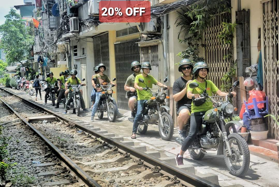 HANOI ANTIQUE MINSK MOTORCYCLE TOUR – FOOD, CULTURE, SIGHT & FUN JOURNEY : HBT1