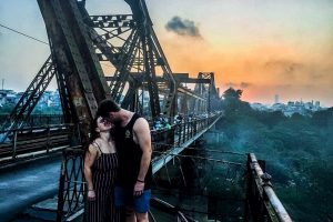 HANOI SUNRISE or SUNSET ROMANCE,  CULTURE, SIGHT & FUN ON VINTAGE MOTORCYCLE – HBT9