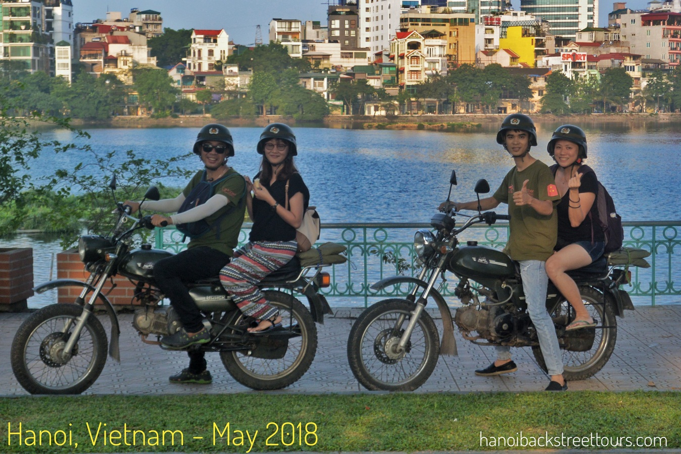 Hanoi Motorbike Tour Is A Fun Way To Experience The Sights, Smells And Tastes Of Hanoi. And Definitely, The Best Way To See And Learn About The Real Hanoi Not Just The Run-off-the-mill Tourist Sites.