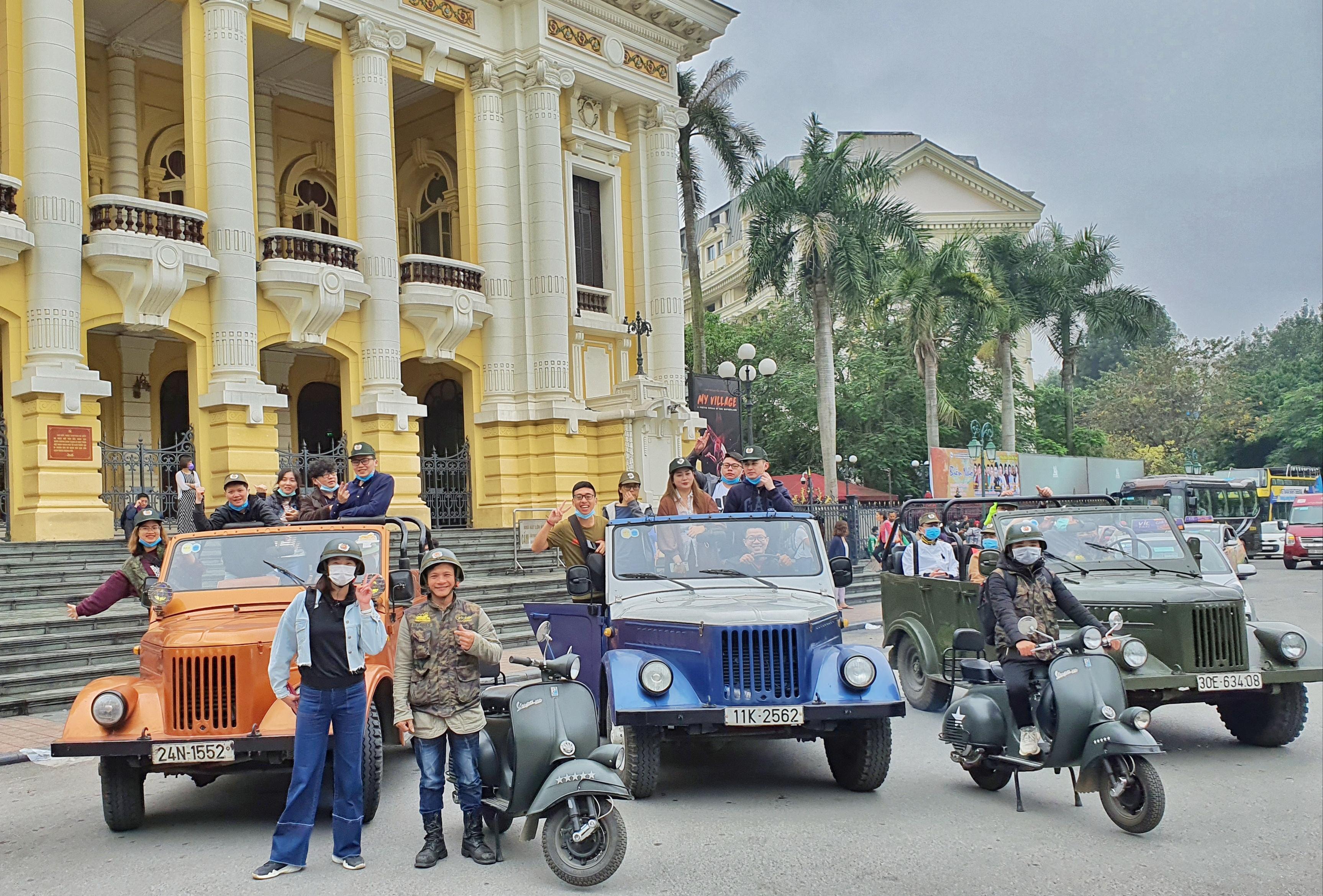 Tour xe Jeep Hà Nội