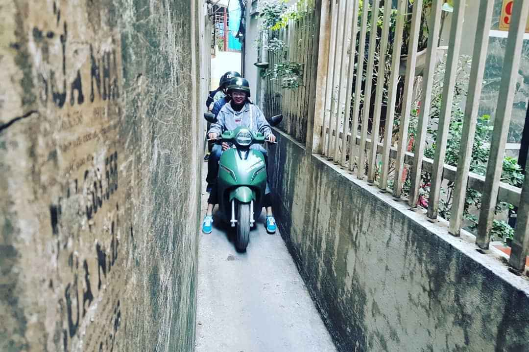 Hanoi Electric Moped Tours