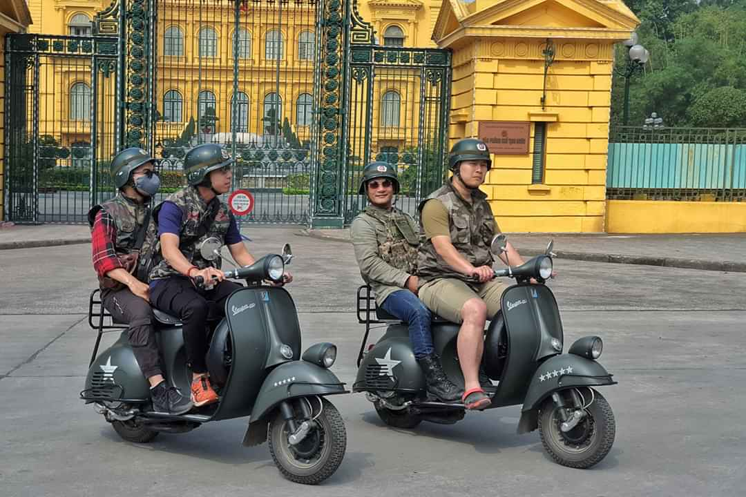 HANOI VESPA TOURS – EXOTIC FOOD + AUTHENTIC CULTURE – LUXURY & CLASSIC VESPA –