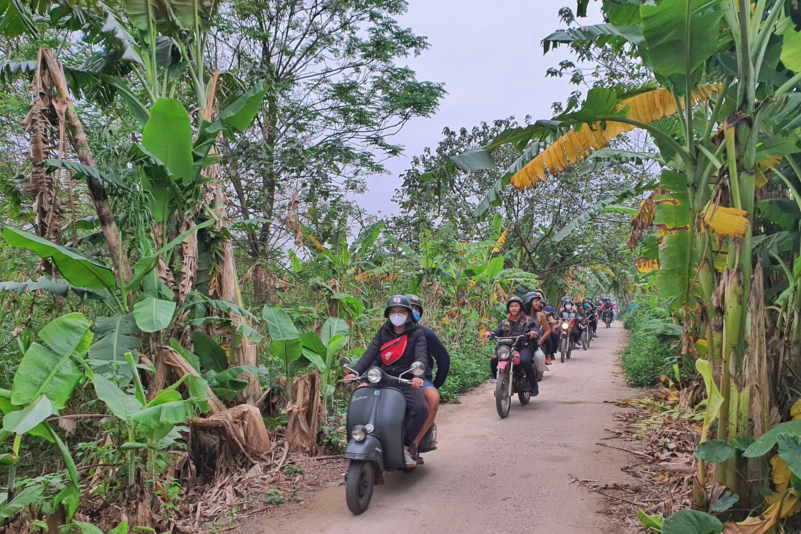 Hanoi Vespa Tours Countryside